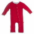 Kickee Pants Coverall in Balloon - last one size 3-6M!