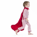 Kickee Pants Coverall in Balloon Stripe