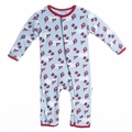 Kickee Pants Coverall in Boy Flying Kites