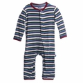 Kickee Pants Coverall in Boys Bobsled Stripe - last one size 4T!