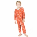 Kickee Pants Coverall in Fisbee Kayak