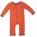 Kickee Pants Coverall in Frisbee