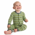 Kickee Pants Coverall in Island Boy Stripe