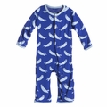 Kickee Pants Coverall in Kite Otter