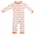 Kickee Pants Coverall in Natural Bike - size 0-3M left!