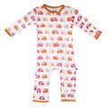 Kickee Pants Coverall in Natural Camper