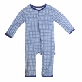 Kickee Pants Coverall in Natural Wicker