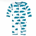 Kickee Pants Coverall in Oasis Hippo