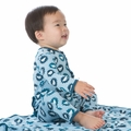 Kickee Pants Coverall in Pond Sunshine Lion