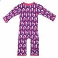 Kickee Pants Coverall in Starfish Seahorse