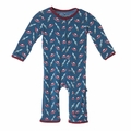 Kickee Pants Coverall in Twilight Space Travel - last one size 6-12M!