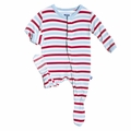 Kickee Pants Footie in Balloon Stripe