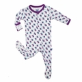 Kickee Pants Footie in Natural Angelfish - size 4T left!