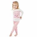 Kickee Pants Long Sleeve Pajama in Lotus Buds - size 4 left!