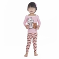 Kickee Pants Long Sleeve Pajama in Lotus Cookie