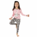 Kickee Pants Long Sleeve Pajama in Stone Geese For Girls