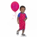 Kickee Pants Raglan Romper in Balloon Tricycle - size 0-3M left!