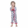 Kickee Pants Ruffle Coverall in Glacier Toaster - sold out!