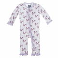 Kickee Pants Ruffle Coverall in Little Bo Peep - last one size 0-3M!