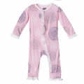 Kickee Pants Ruffle Coverall in Lotus Blooms