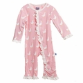Kickee Pants Ruffle Coverall in Lotus Duck - last one size 4T!