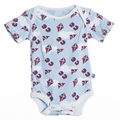 Kickee Pants Short Sleeve Onesie in Boy Flying Kites