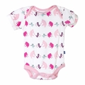 Kickee Pants Short Sleeve Onesie in Girl Parade