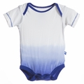 Kickee Pants Short Sleeve Onesie in Kite Dip-Dye