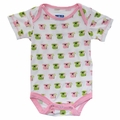 Kickee Pants Short Sleeve Onesie in Natural Koala