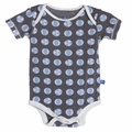 Kickee Pants Short Sleeve Onesie in Stone Beach Ball