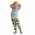 Kickee Pants Short Sleeve Pajama in Pond Airplane
