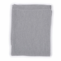 Nui Organics Merino Wool Bubble Blanket in Silver - last one!