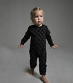 Nununu Skulls Playsuit in Black - size 12-18M left!