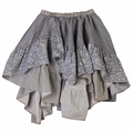 Paper Wings Frilled Chambray Skirt - last one size 2!