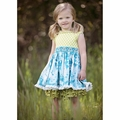 Persnickety Kassidy Tunic in Blue - last one size 2!