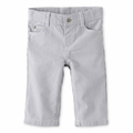 Petit Bateau Baby Boy Tennis Striped Pants in Gray
