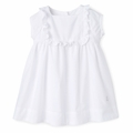 Petit Bateau Baby Girl Dotted Swiss Cotton Dress
