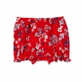 Petit Bateau Baby Girl Japanese Floral Bloomers in Red - Coming soon!
