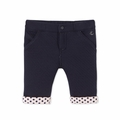 Petit Bateau Baby Girl Padded Pants in Navy