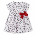 Petit Bateau Baby Girl White Floral Dress