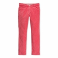 Petit Bateau Big Girls Slim Cords in Impatience Pink
