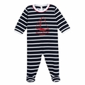 Petit Bateau Iconic Sailor Stripe Sleeper - size 1M left!