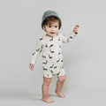Rylee and Cru Deer Longsleeve Romper - last one size 6-12M!