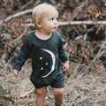 Rylee and Cru Silver Moon Longsleeve Romper - sold out!