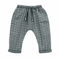 Rylee and Cru Woven Baggy Pant in Washed Indigo