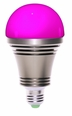 iOS/Android bluetooth controlled RGB LED light bulb