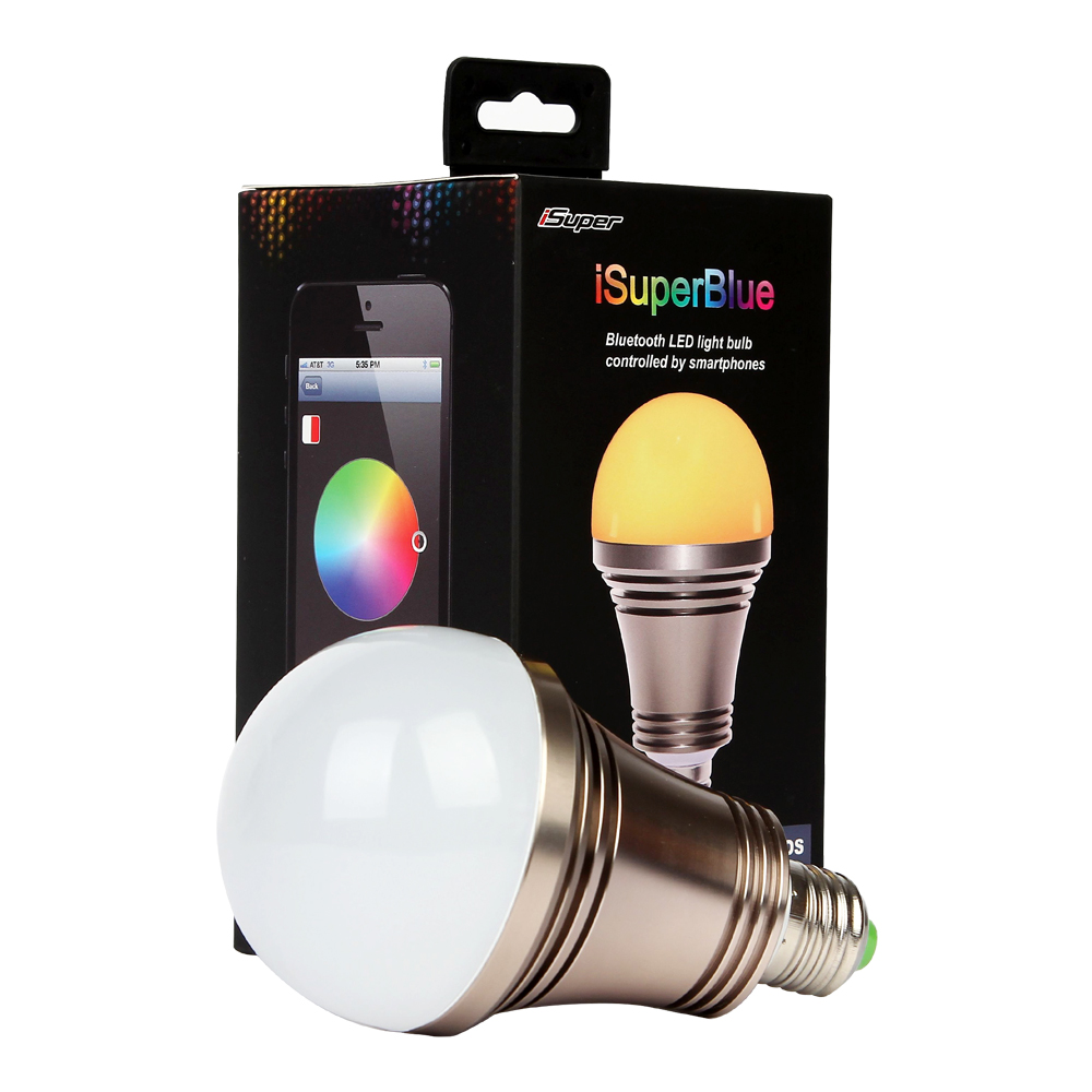 iphone controlled lighting. IOS/Android Bluetooth Controlled RGB LED Light Bulb Iphone Lighting I