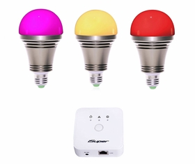 iOS/Android controlled Zigbee RGB LED light bulb