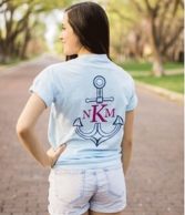 2 Toned Icon Monogrammed Pocket T-Shirt