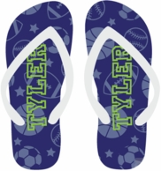 All Star Personalized Flip Flops - CHOOSE YOUR DESIGN!